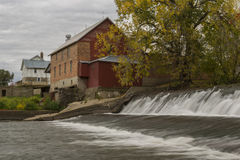 Lidtke Mill Autumn Royalty Free Stock Photo