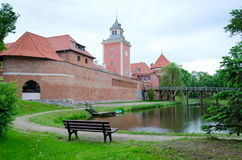 Lidzbark Warminski castle Stock Photography