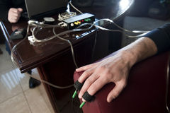 Lie detector 03 Stock Image