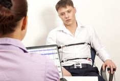 Lie Detector Stock Photo