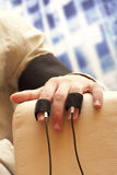 Lie detector Stock Images