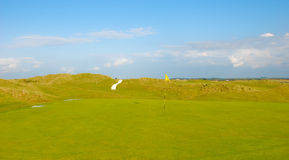 Lie le terrain de golf Image stock