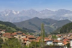 Liebana valley Royalty Free Stock Photo
