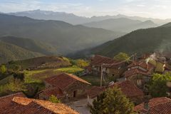 Liebana valley Royalty Free Stock Image