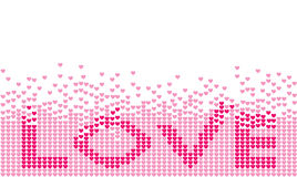 Liebe stock abbildung