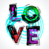 Liebe. Lizenzfreie Stockbilder