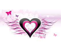 Liebe - abstrakter Hintergrund Lizenzfreie Stockfotografie