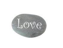Liebe auf den Felsen Lizenzfreies Stockbild