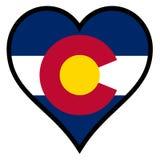 Liebe Colorado Lizenzfreie Stockfotos