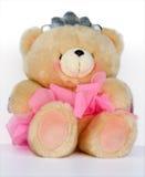 Liebe der Dame-Teddybär Stockbild