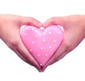 Liebe in der Hand Lizenzfreie Stockbilder