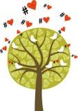 Liebe in der Luft Stockbild