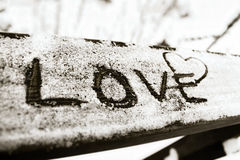 Liebe in der Luft Lizenzfreie Stockfotos