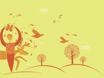 Liebe der Natur Lizenzfreie Stockbilder
