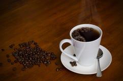 Liebe des Kaffees Lizenzfreies Stockbild