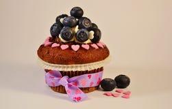 Liebe des kleinen Kuchens Stockbild