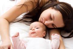 Liebe des Mutter stockbild