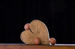 Liebe für Eier Stockfotos