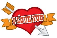 Liebe geschlagen Stockbilder