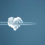 Liebe ist in der Luft stockbilder
