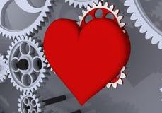 Liebe ist die größte treibende Kraft! Stockfotografie