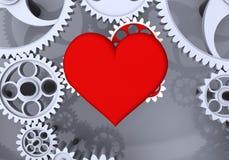 Liebe ist die größte treibende Kraft! Lizenzfreies Stockfoto