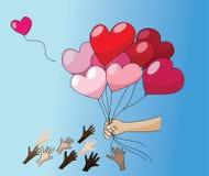Liebe ist für das Geben Lizenzfreie Stockfotografie