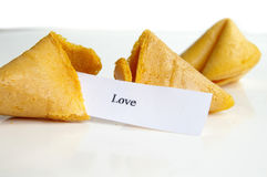 Liebe ist in Ihrer Zukunft Lizenzfreies Stockbild