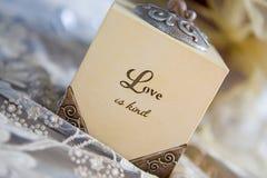 Liebe ist nett Stockfoto