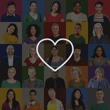 Liebe mögen Leidenschafts-romantische Neigungs-Hingabe Joy Life Concept lizenzfreie stockfotos