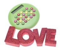Liebe oder Geld Lizenzfreie Stockfotos