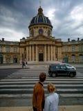 Liebe in Paris Stockfotografie