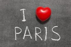 Liebe Paris Lizenzfreie Stockfotos