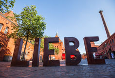 Liebe Sculpture Royalty Free Stock Images
