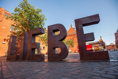 Liebe Sculpture Royalty Free Stock Photos