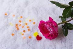 Liebe St Valentinsgruß ` s Tag Schöne Innere Lizenzfreies Stockfoto