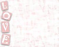Liebe stationär Stock Abbildung