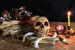 Liebe stirbt nie für Herz und Seele, Stillleben Lizenzfreie Stockbilder