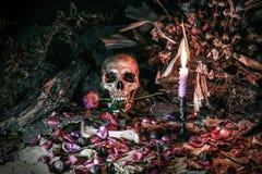 Liebe stirbt nie für Herz und Seele, Stillleben Lizenzfreies Stockbild
