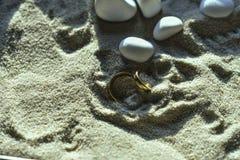 Liebe am Strand lizenzfreies stockfoto