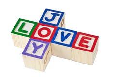 Liebe und Freude Stockfotos