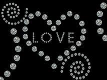 Liebe und Inneres Stockfotografie