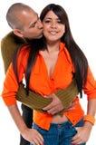 Liebe und Küsse Stockfotografie
