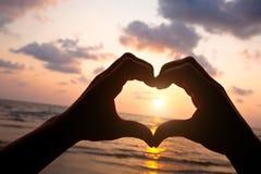 Liebe und Positiv stockfoto