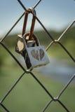 Liebe zugeschlossen Lizenzfreie Stockfotografie