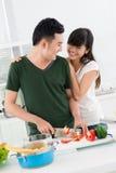 Liebe zum zu kochen stockfoto