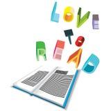 Liebe zum zu lesen lizenzfreie abbildung