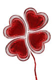 Lieben Sie Blume Lizenzfreies Stockfoto