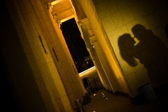 Lieben Sie die Schatten Stockfoto