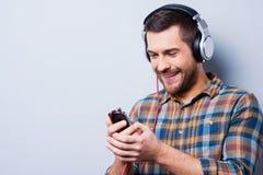 Lieben Sie diese Musik Lizenzfreie Stockfotos